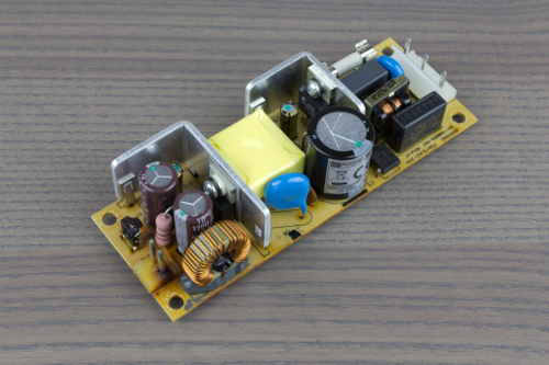 The damaged Phihong power supply from the HC300.